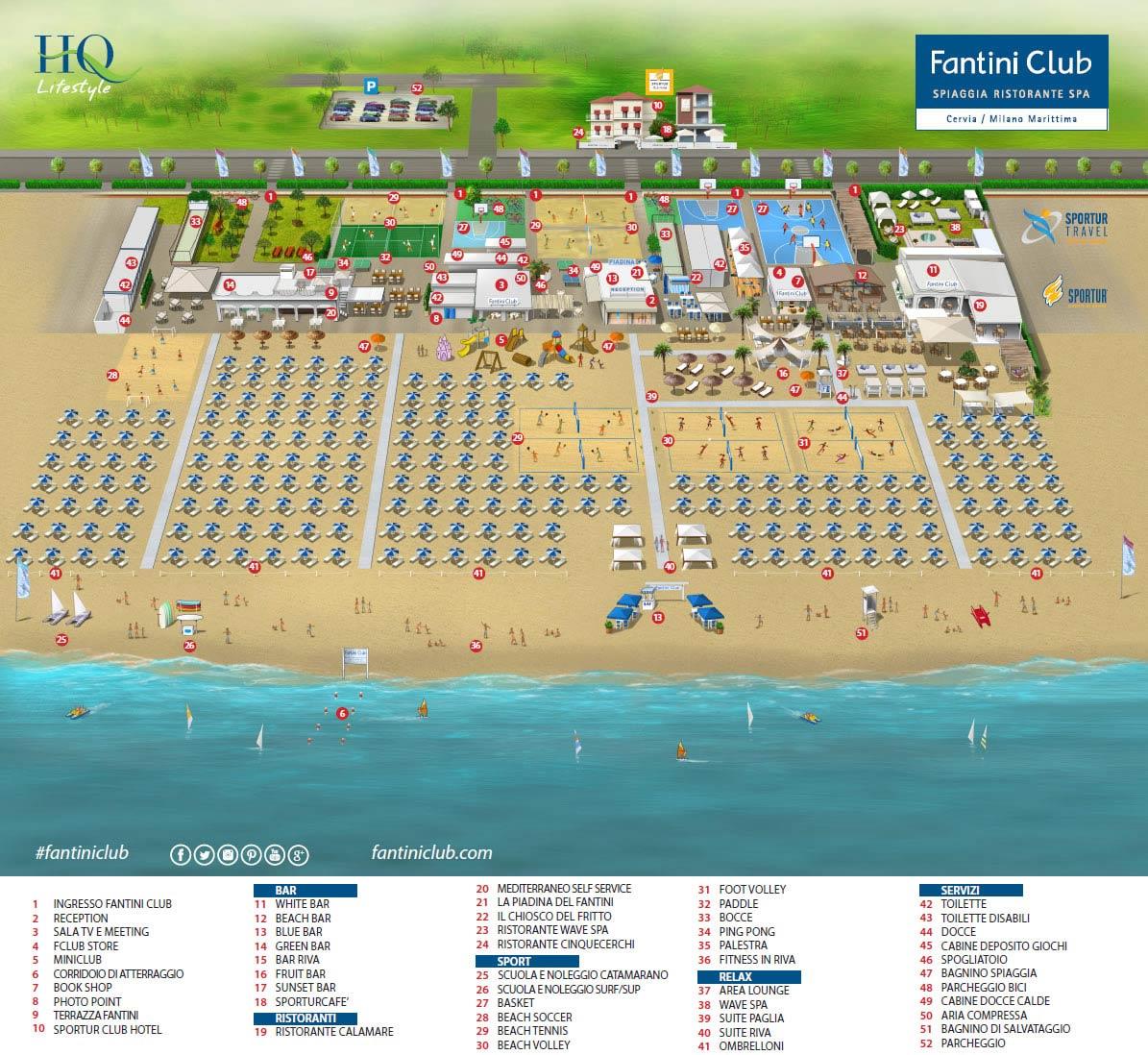 Location fantini club scopri tutti i servizi per i clienti di fantini fantini club cervia ra - Bagno fantini cervia ...